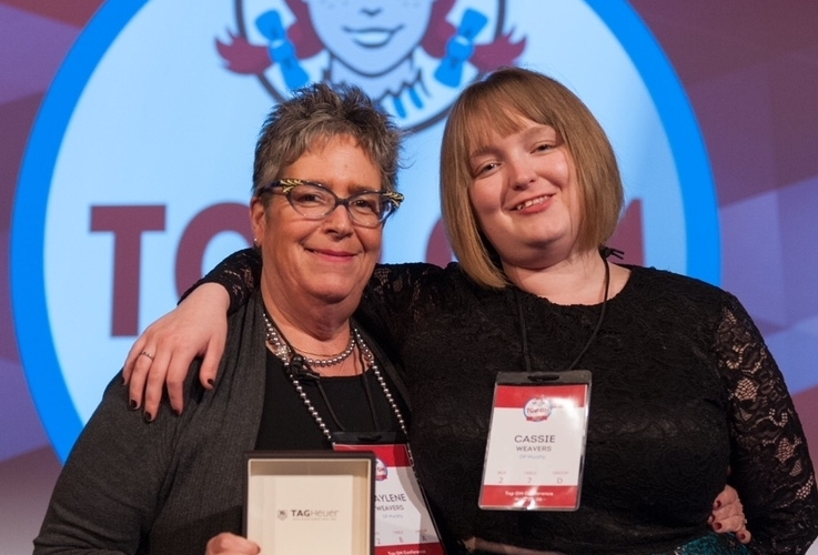 Gaylene and Cassidie Weavers, a mother-daughter duo who are both Wendy's General Managers at Wendy's Canada Prince Edward Island locations.