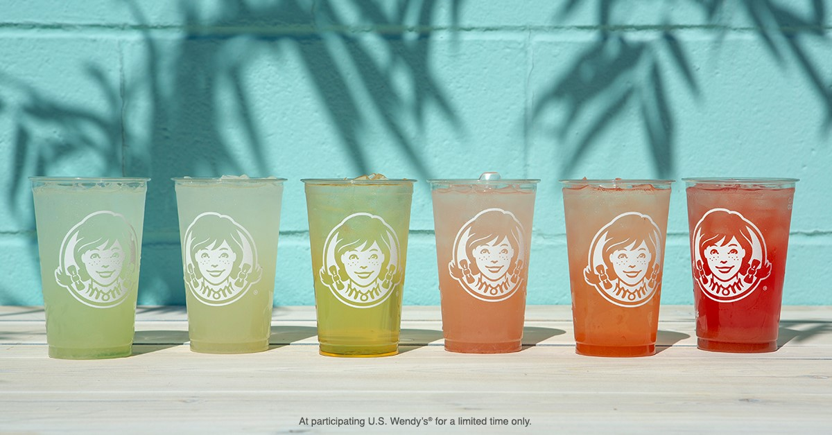 "Our oh-so craveable summer beverage lineup has people talking. Did you know ""Wendy's Strawberry Lemonade"" is searched for up to 1,000 times a month?"