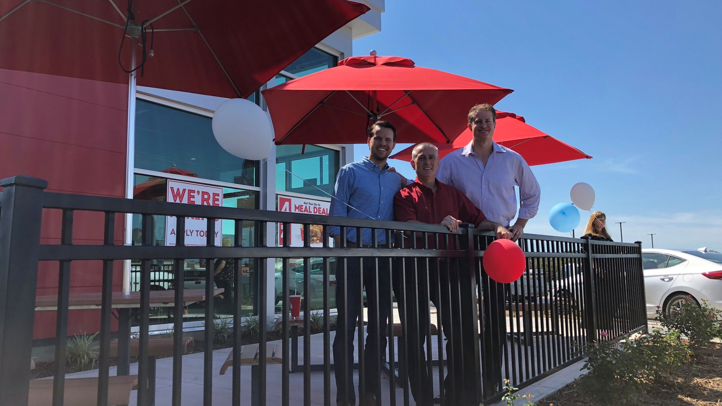 Nick Rhoads, Glen Brandenburg and Nate Hamilton partnered up to start a new Wendy's franchise. Wondering how to become a Wendy's franchisee? Click  here  to learn more, visit our  FAQ page , or contact us directly at wendys.franchising@wendys.com.