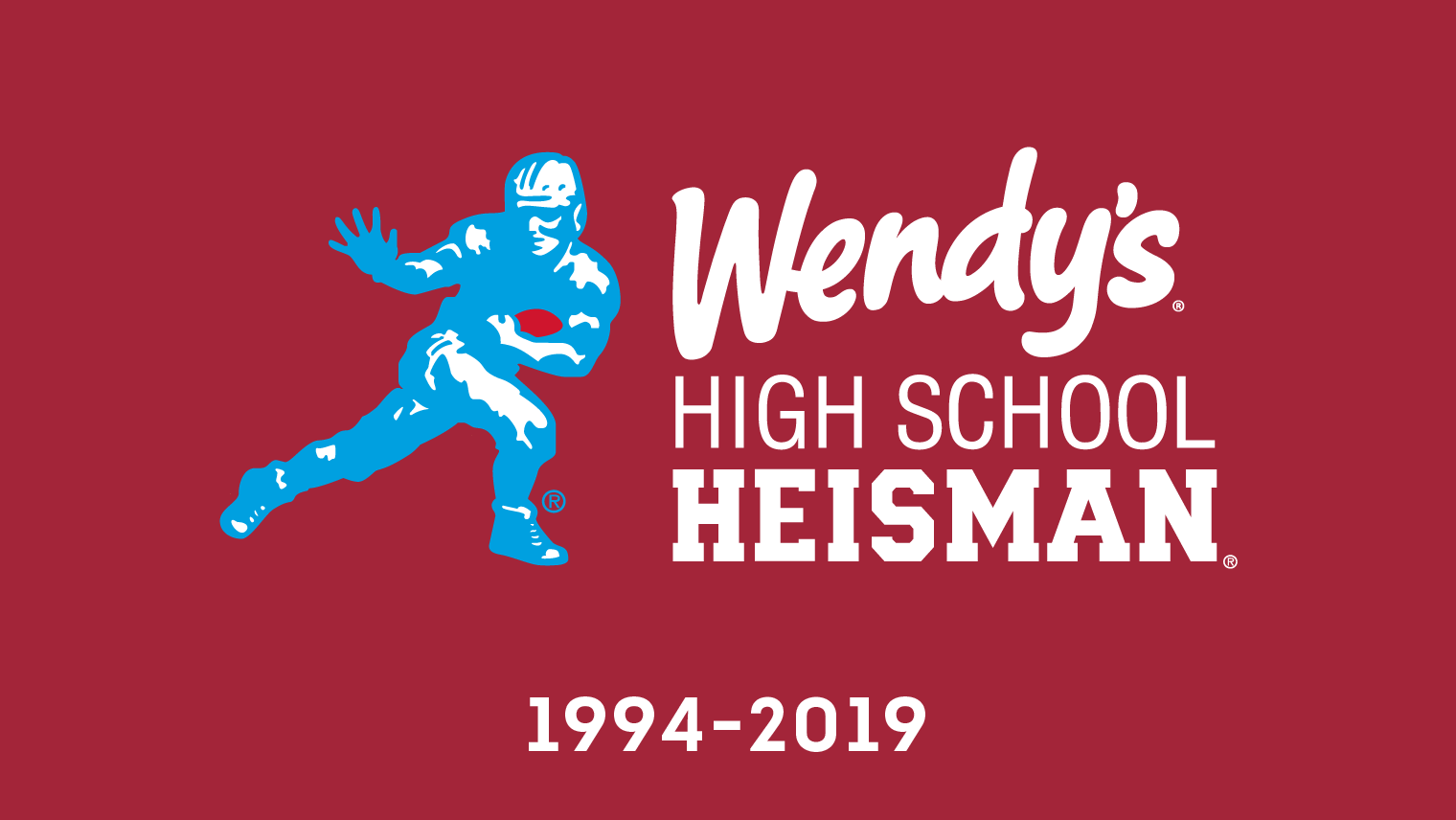 Dave Thomas created the Wendy's High School Heisman scholarship in 1994. Over the past 25 years we've had the opportunity and honor of getting to know the most esteemed high school athletes and are honored.