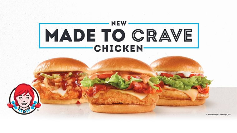 Wendy's Made to Crave introduces a trio of new sandwiches to your not-so-basic chicken lineup: Avocado BLT, S'Awesome Bacon Chicken and Barbecue Chicken.