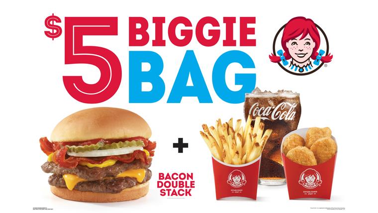 Wendy's $5 Biggie Bag