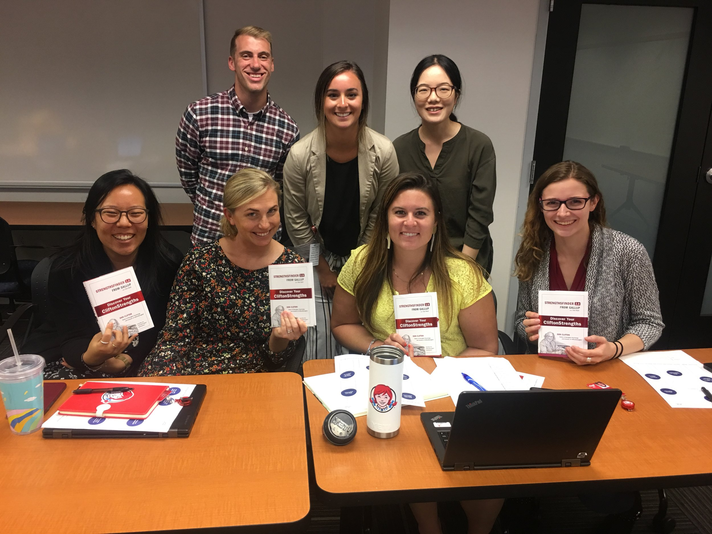 In addition to helping their teams succeed, The Wendy's Intern Class of 2019 participated in various professional development exercises to help grow their careers.