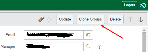 clone groups button