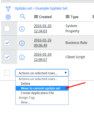 """""""Move to current update set"""" list choice UI action."""