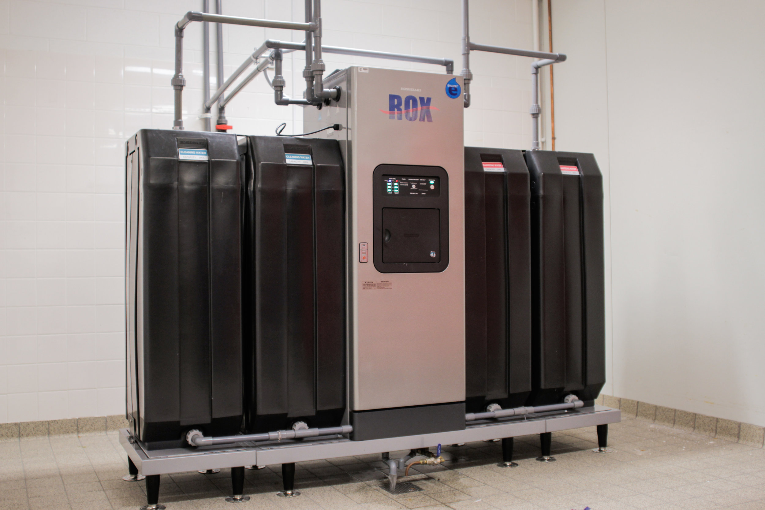 eWater Reticulated Hygiene System