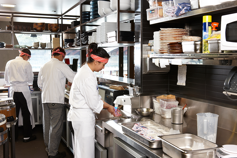 Saké Restaurant - eWater VDW Handwash Station