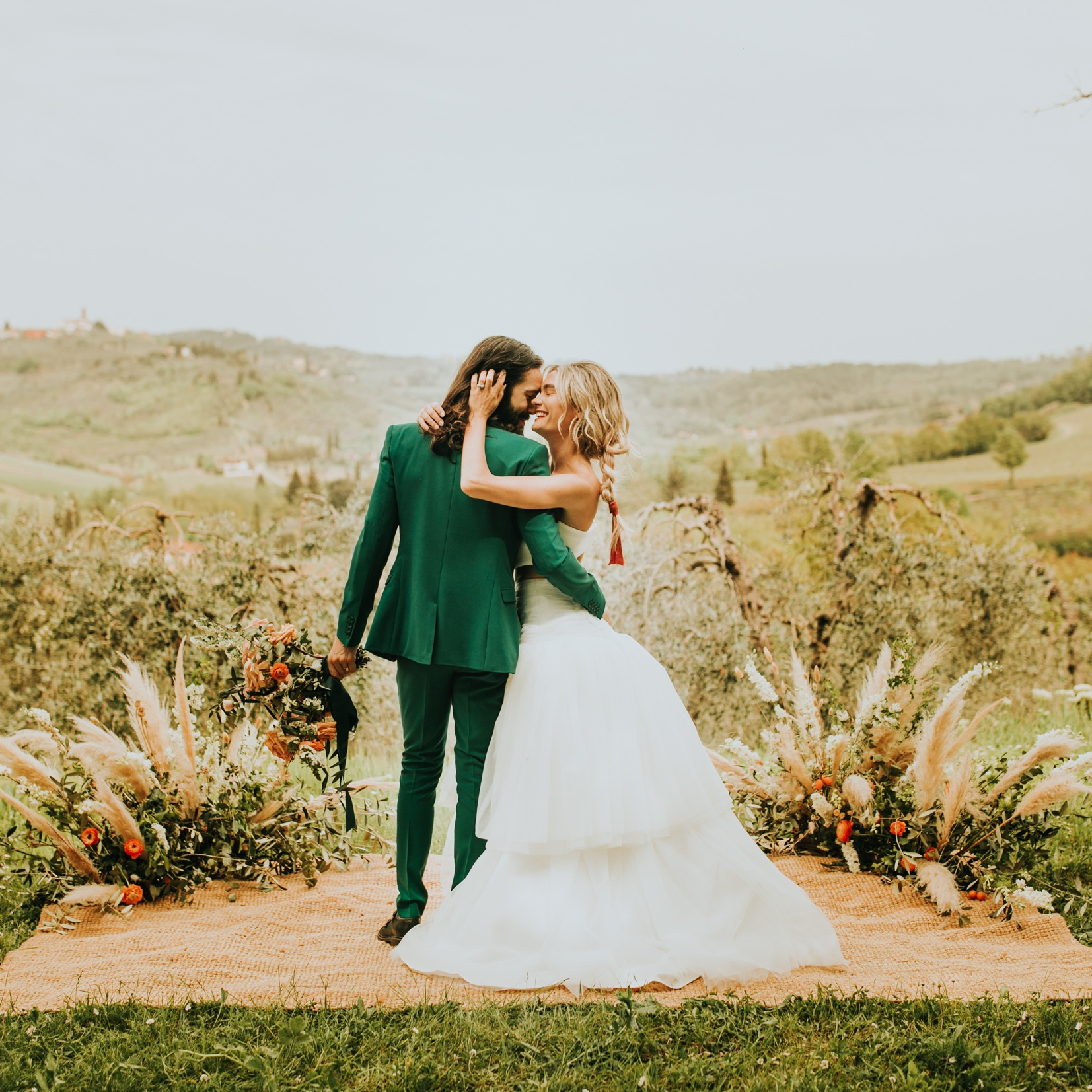 A Modern Day Wedding in Tuscany - Casey + Alex