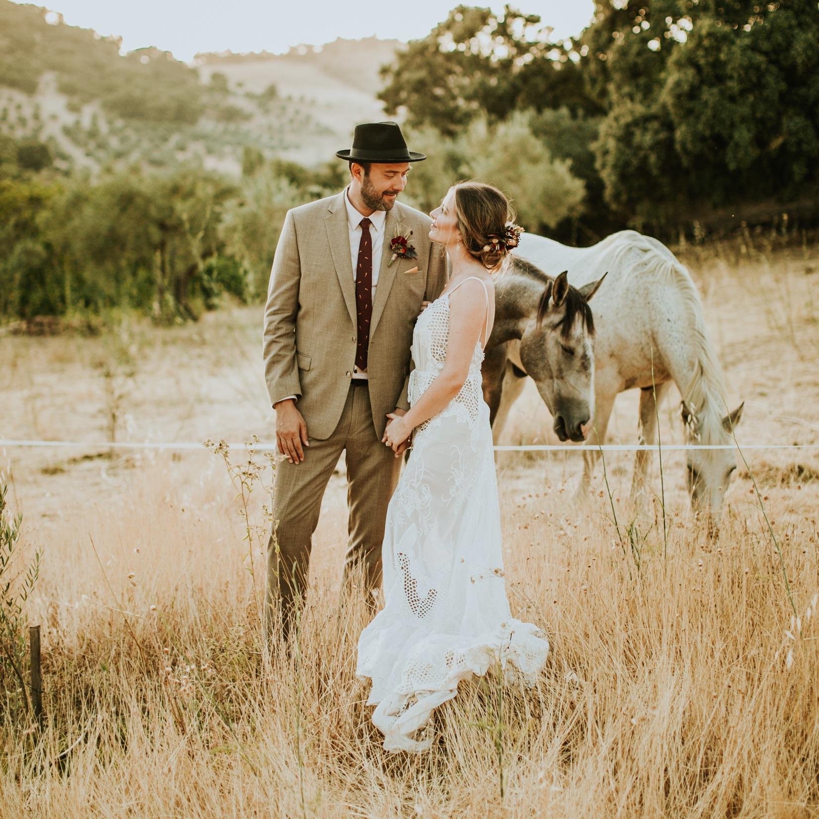 An Intimate Backyard Wedding in Ronda Spain - Andrew + Ferrah
