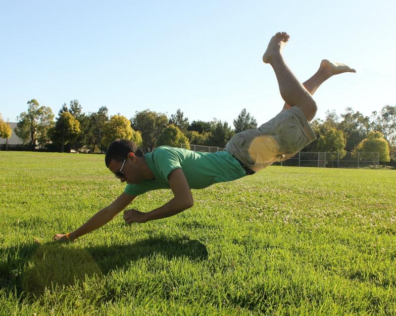 Who doesn't like a good levitation photo?