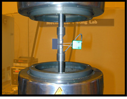 Instron fatigue tester