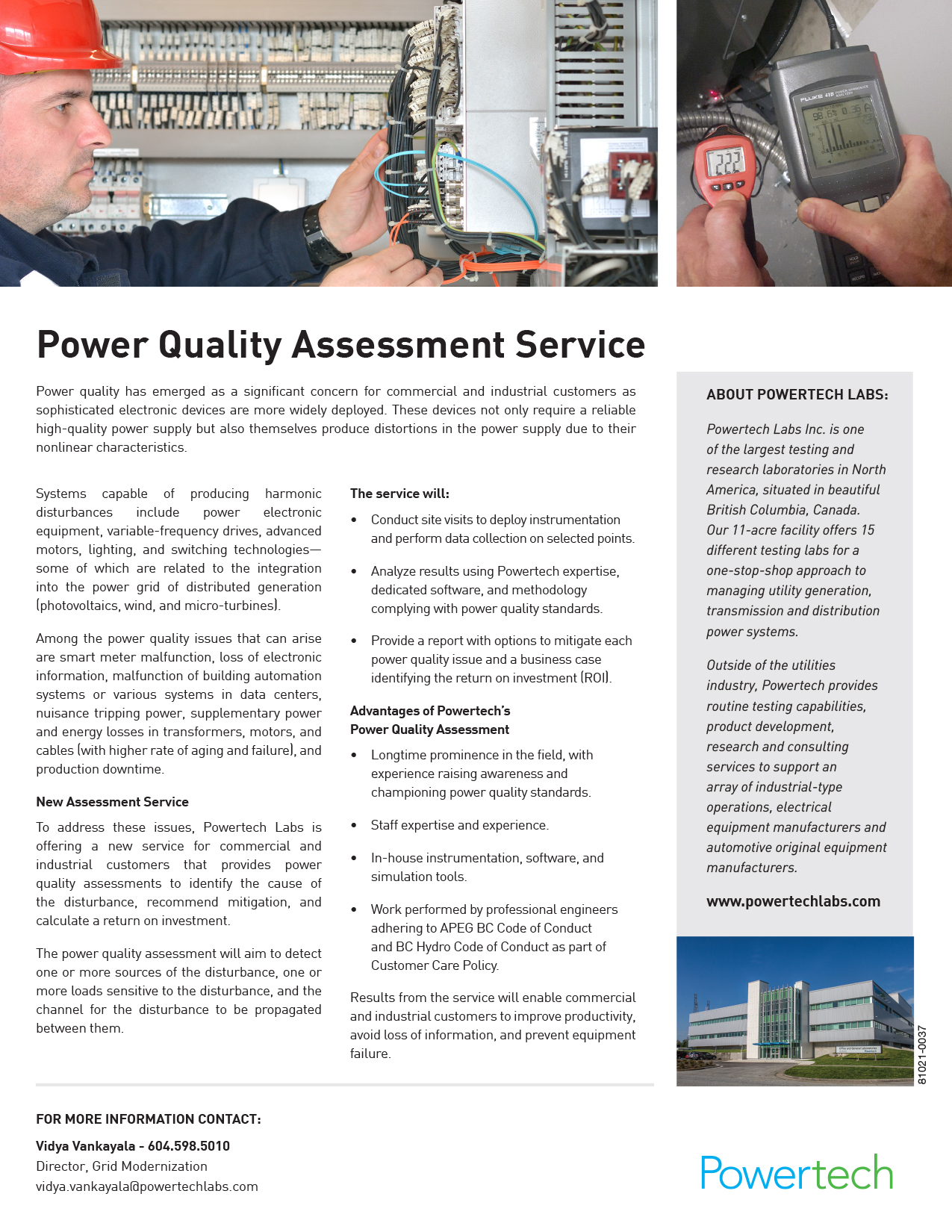 Power Quality Assessment Services PDF →