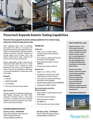 Seismic Testing PDF→