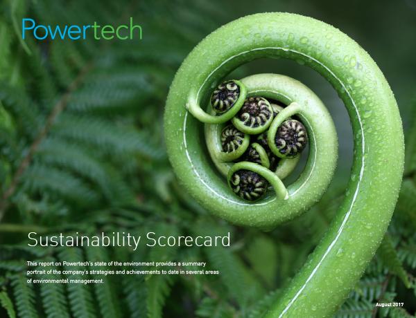 2017 Sustainability Scorecard→