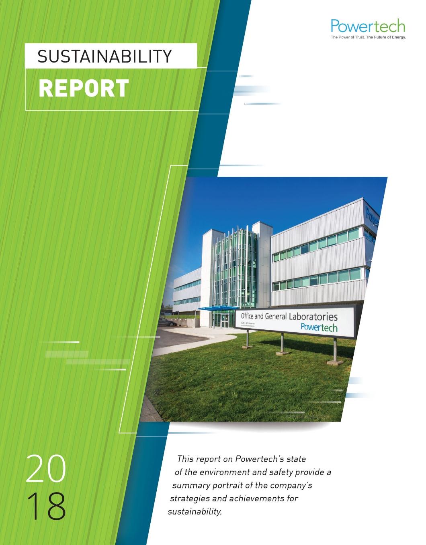 2018 Sustainability Report  →