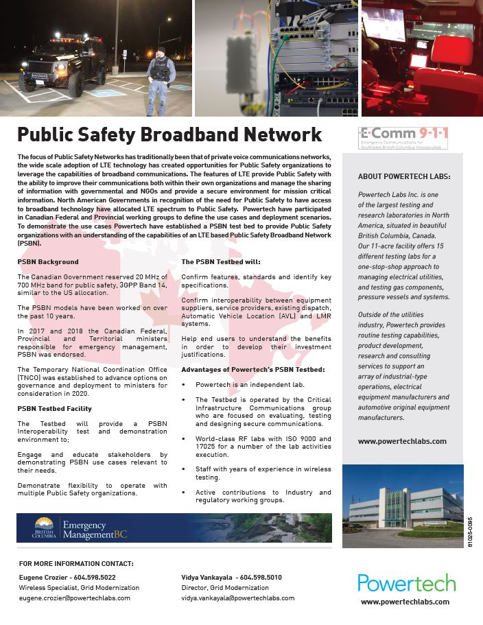 Public Safety Broadband Network→