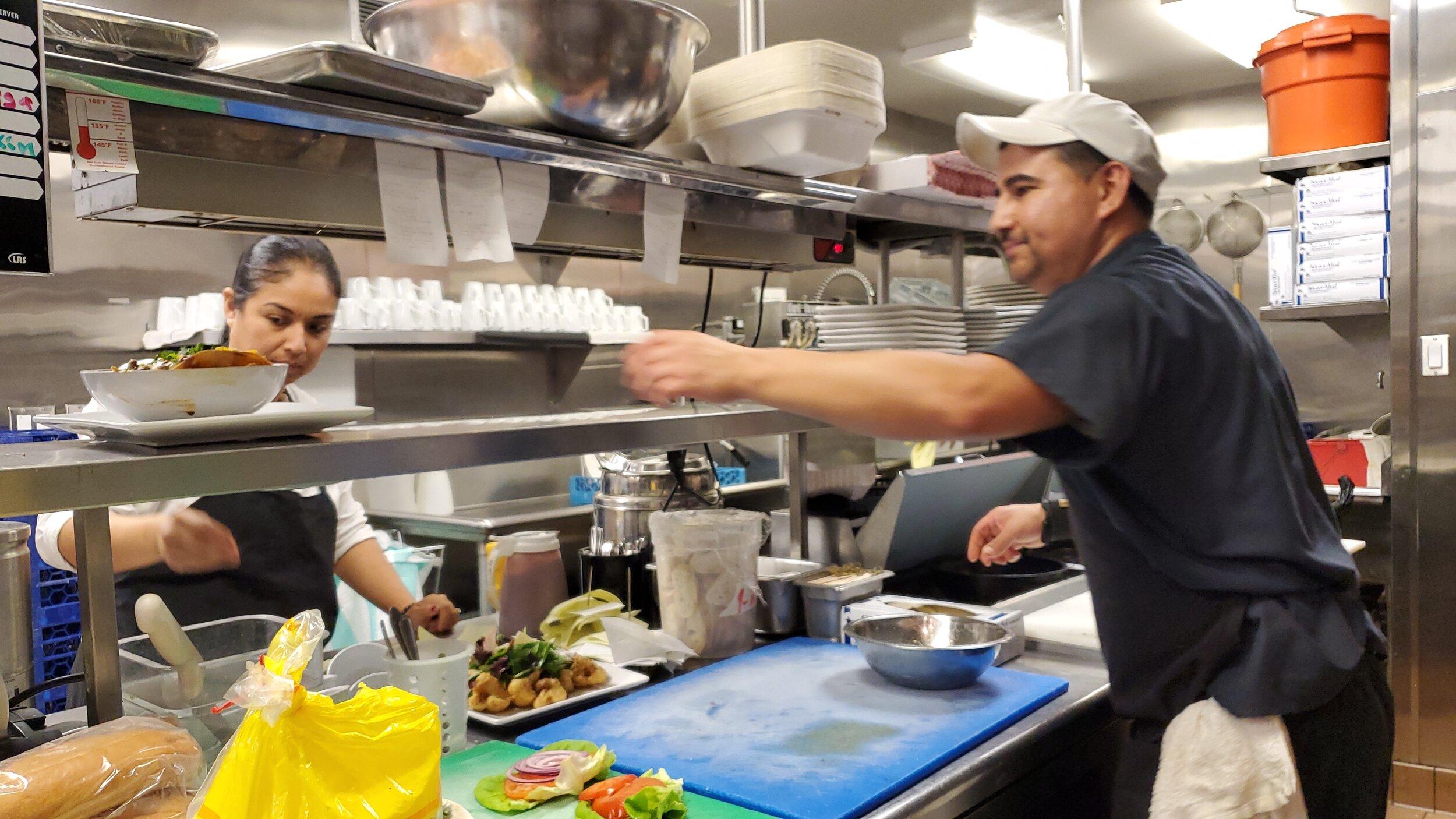Executive Chefs Lorena Lopez and Jorge Quintero