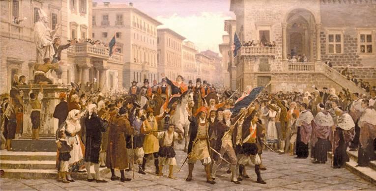 """""""The Revolt - Entry into Sassari"""""""