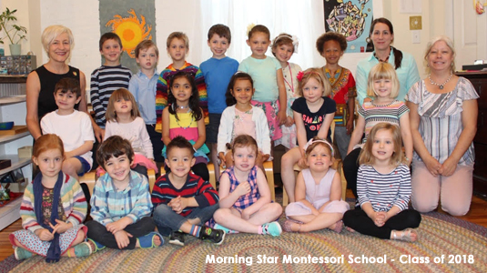 Morning Star Montessori School - Class of 2018
