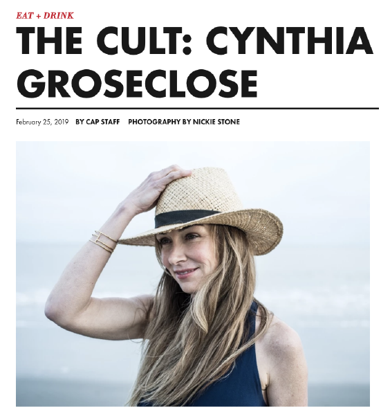 CAP Beauty - The Cult : Cynthia Groseclose