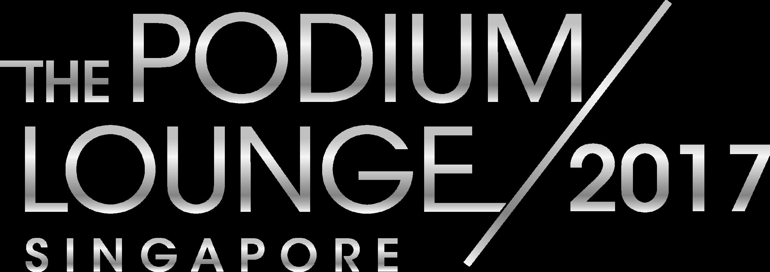 The Podium Lounge Singapore 2017 Logo.png
