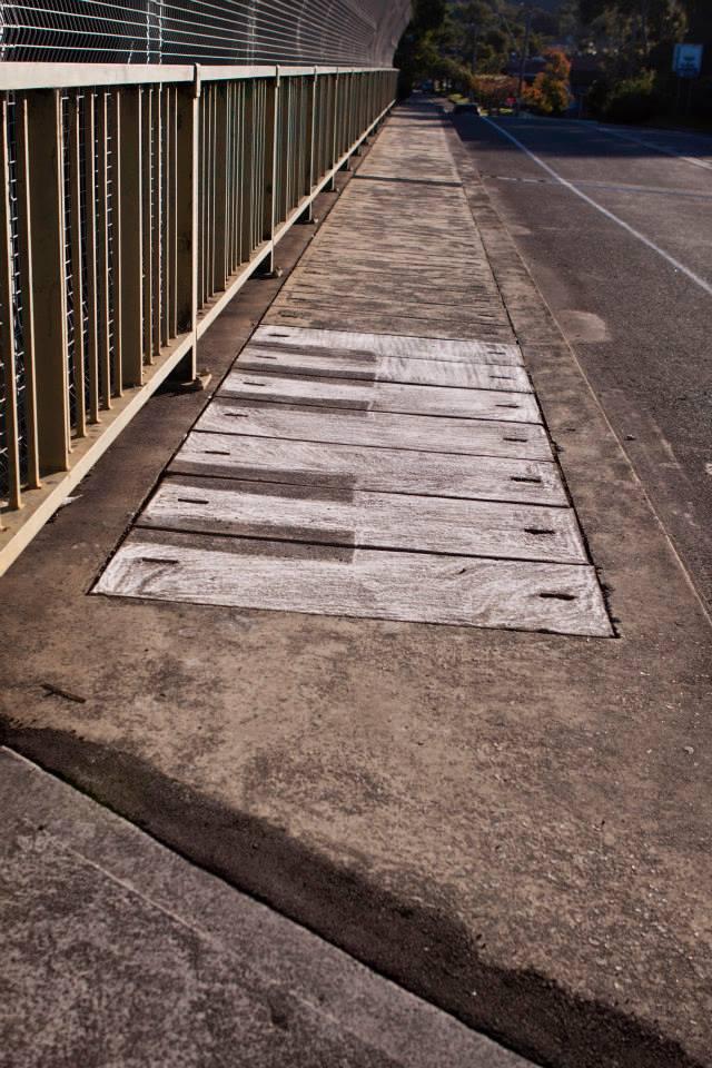 Piano no. 2, 2014, chalk