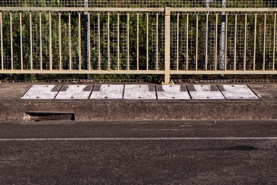 Piano no. 1, 2014, chalk