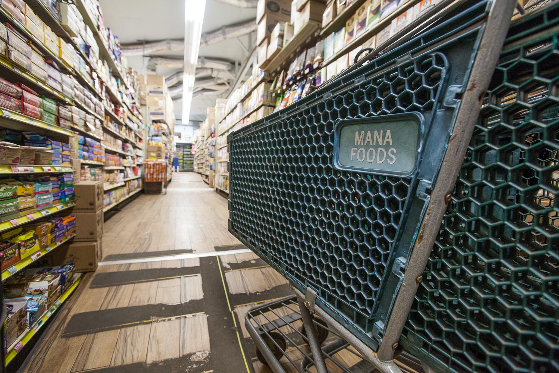 Mana Food Grocery Store Aisle
