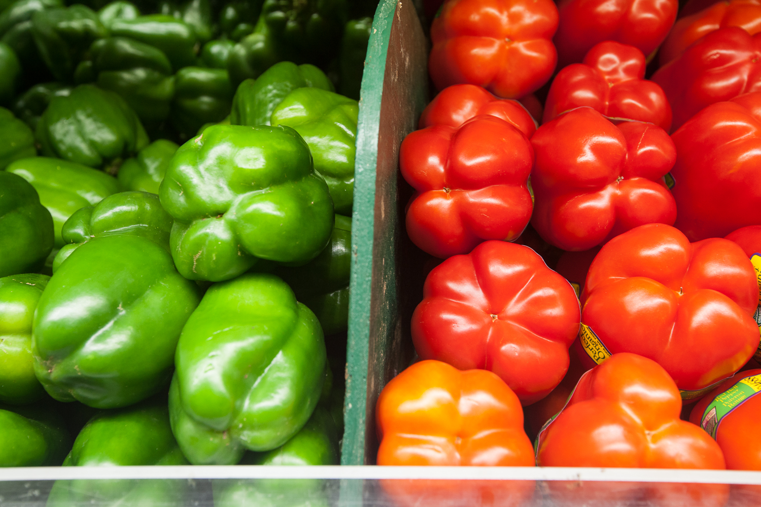 Organic Bell Peppers From Mana Foods Produce Department