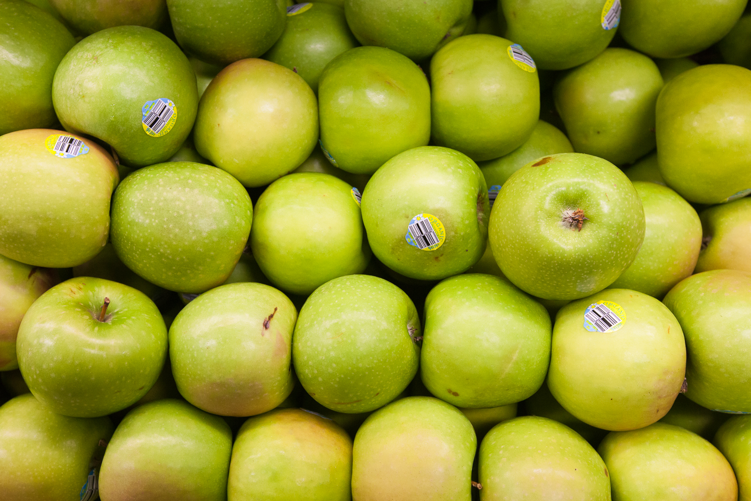 Organic Green Apples Mana Foods Produce Department
