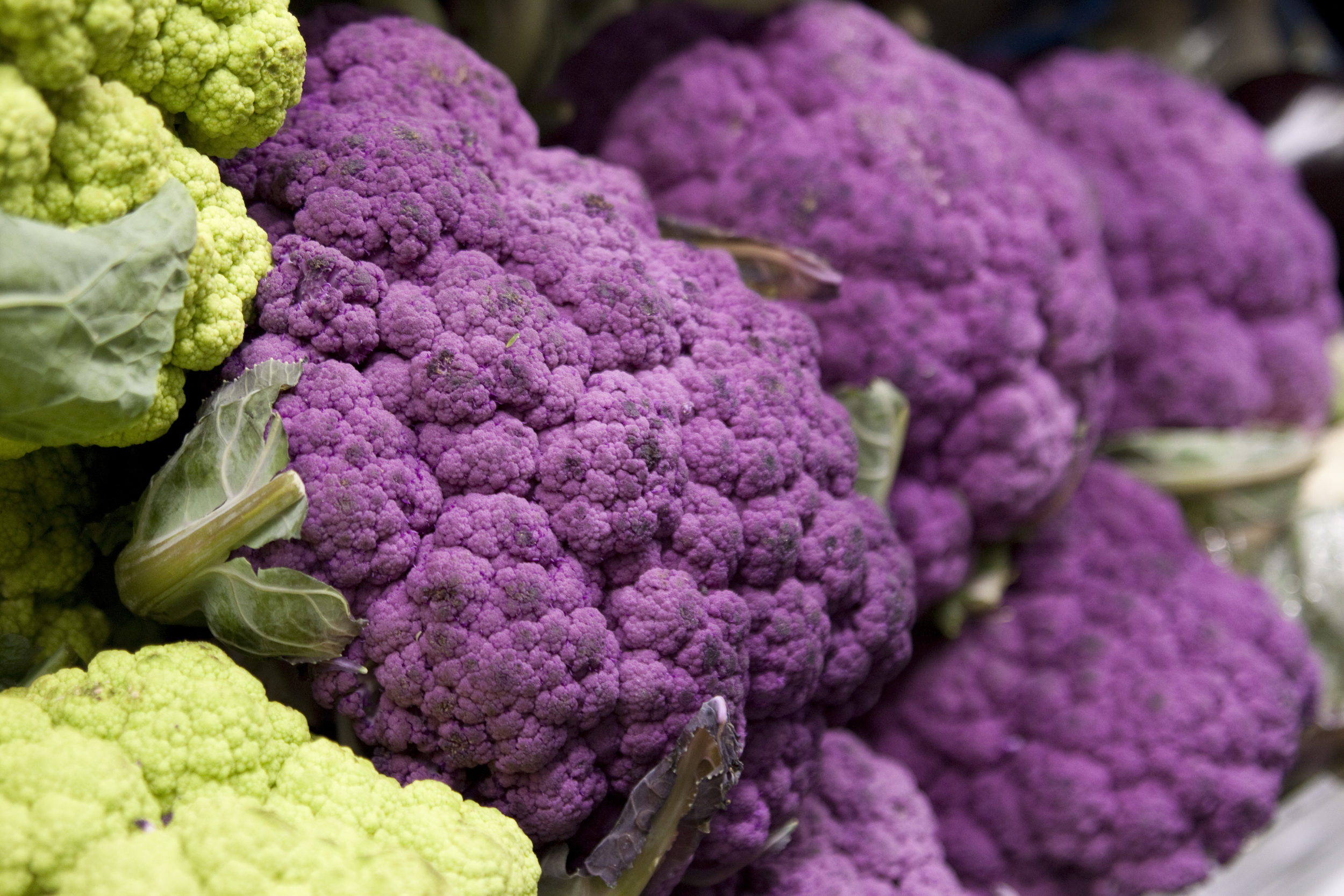 Purple Cauliflower from Mana Foods Produce Department