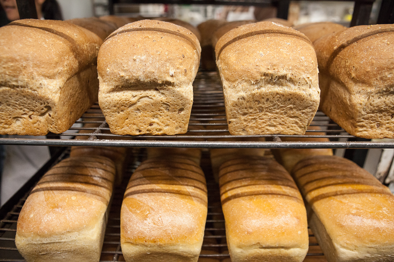 Fresh Baked Bread from Mana Foods Bakery