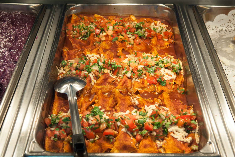 Enchiladas From Mana Foods Deli Food Bar