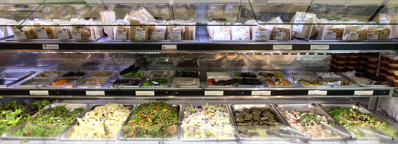 Fresh Organic Salad Bar Mana Foods Deli