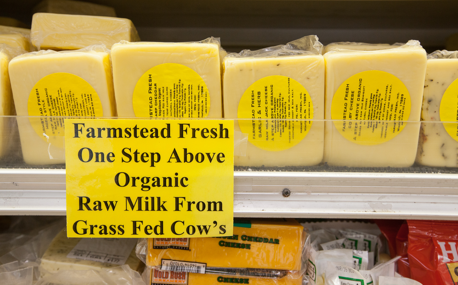 Mana Foods Cheese One Step Above Organic Selection