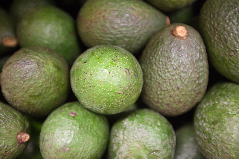 Organic Avacado Display Mana Foods Raw Foods Department
