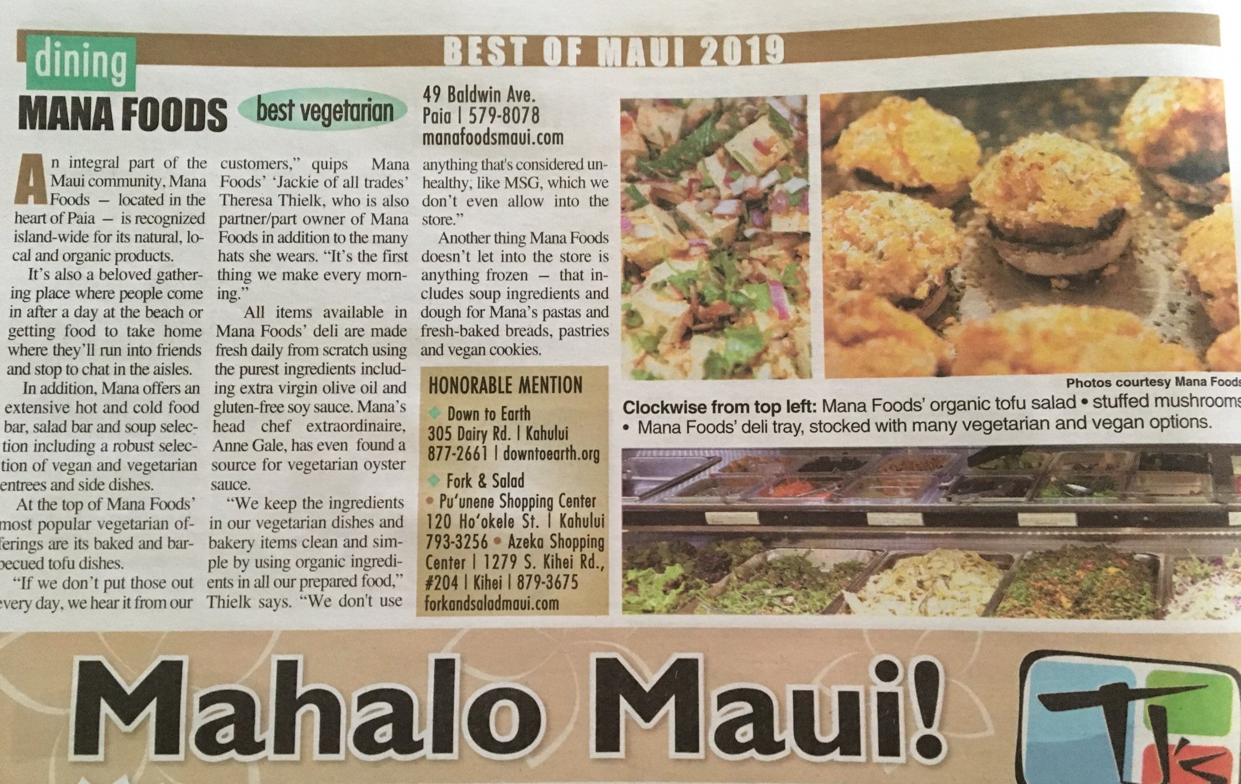 Image from The Maui News