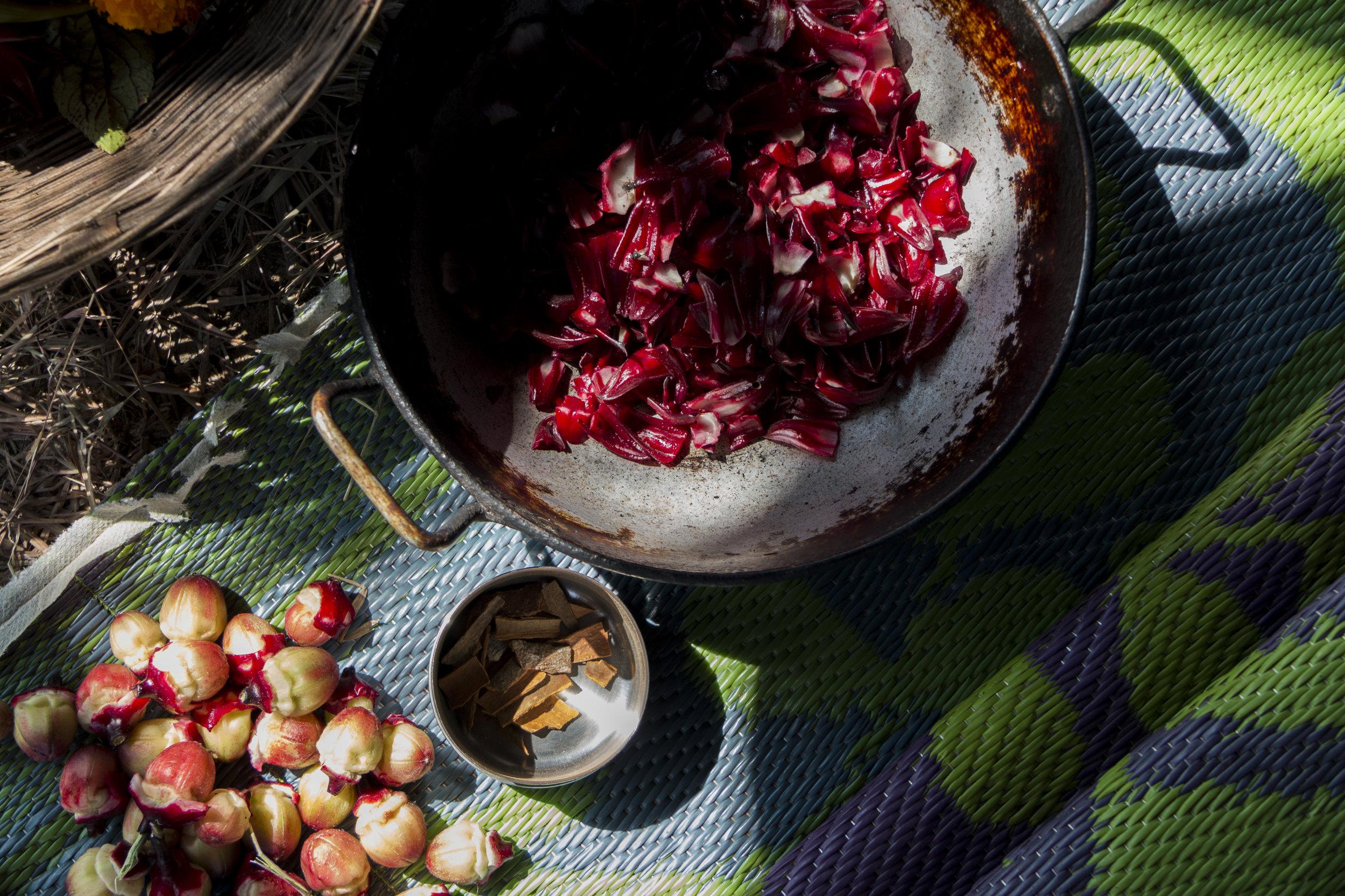 rosella jam and cinnamon