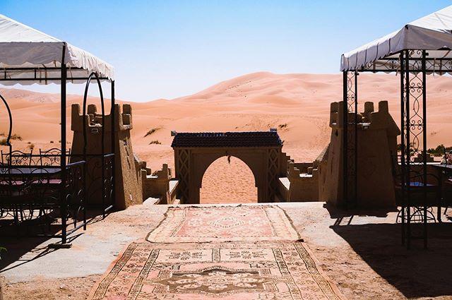 Merzouga, the Sahara Desert (Morocco), 2019