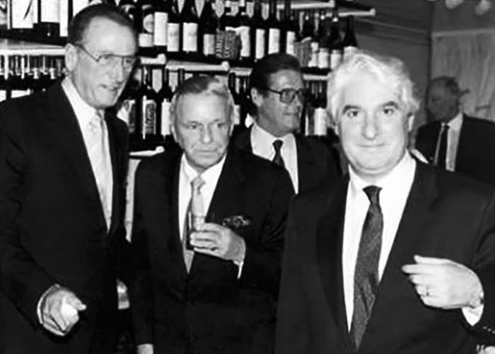 Frank Sinatra at Santini Belgravia London