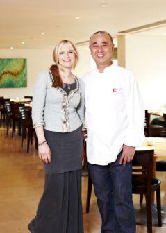 LAURA SANTTINI / chef NOBU MATSUHISA