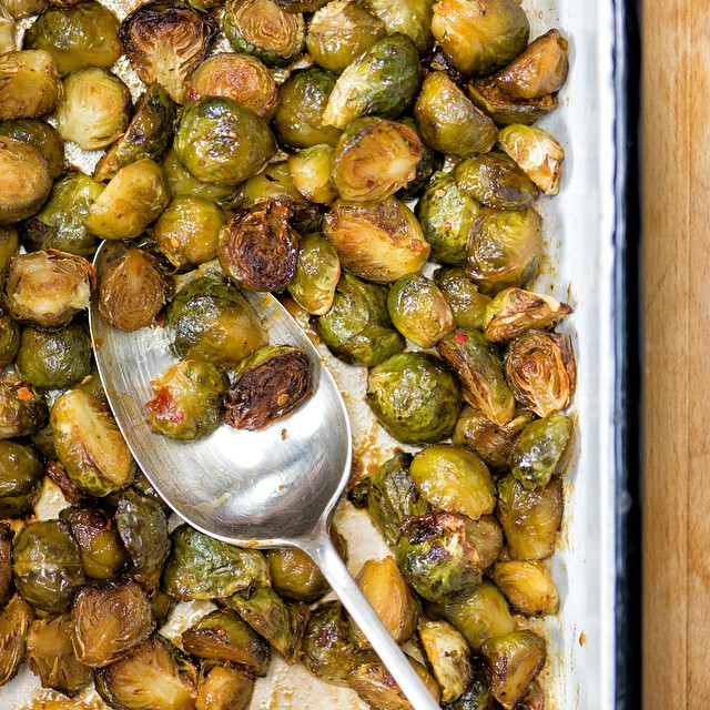 Brussels Sprouts like you've never tasted them before - packed with umami! Recipe on the blog now. x