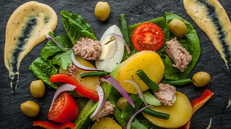Taste #5 Salad Nicoise Composed