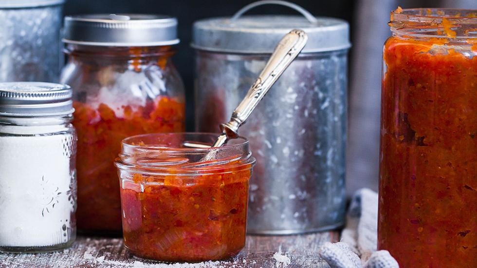 Peach Tomato Jam