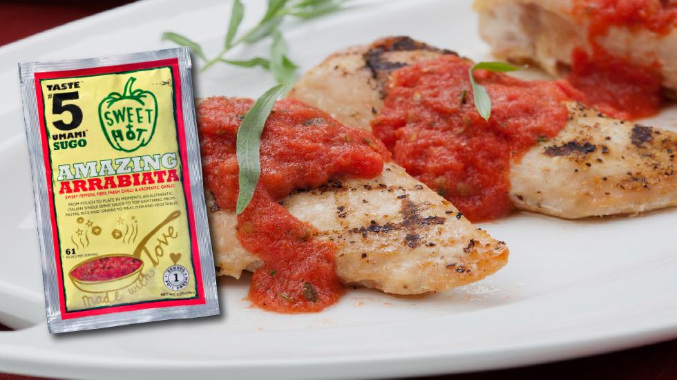 "Taste #5 SUGO ""Amazing Arrabiata"" Umami Ready-2-Eat"