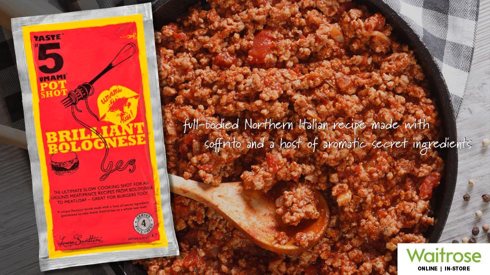 """Taste #5 PotShot """"Brilliant Bolognese"""" Simmer Sauce"""