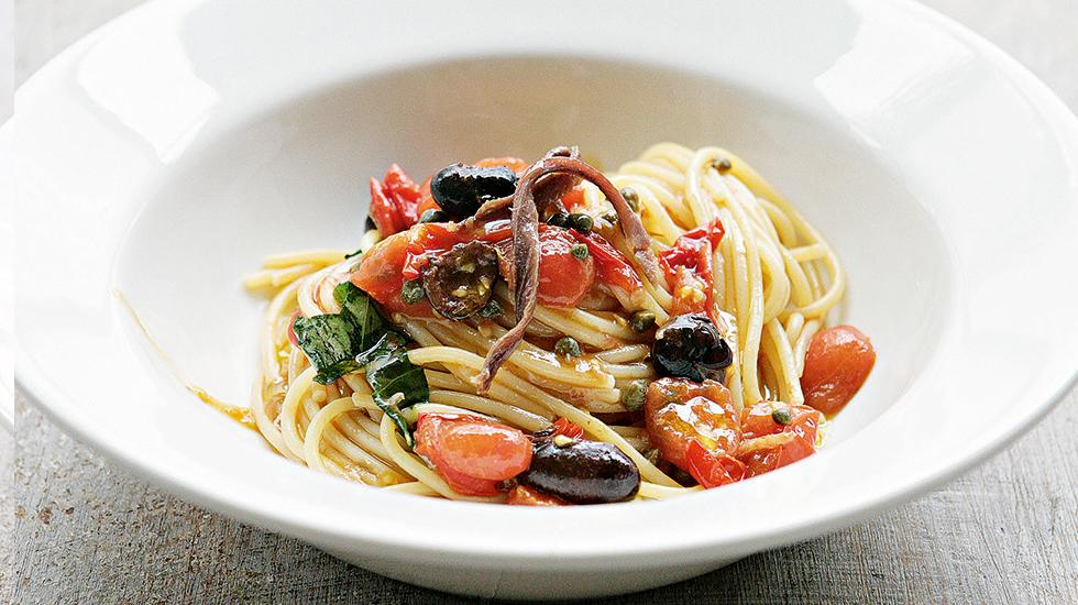 Easy Tasty Puttanesca