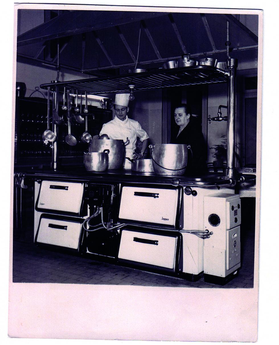 Nonna Pasqua in Her Kitchen