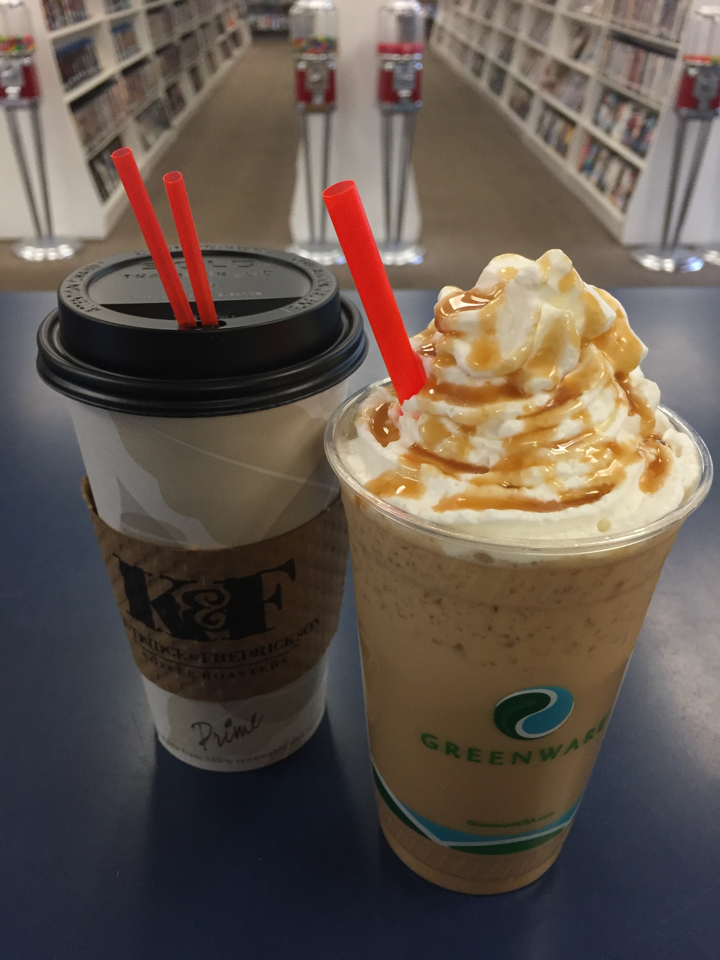 Great American Dream - Our signature drink and the perfect caramel treat for any day. Try it hot or iced!