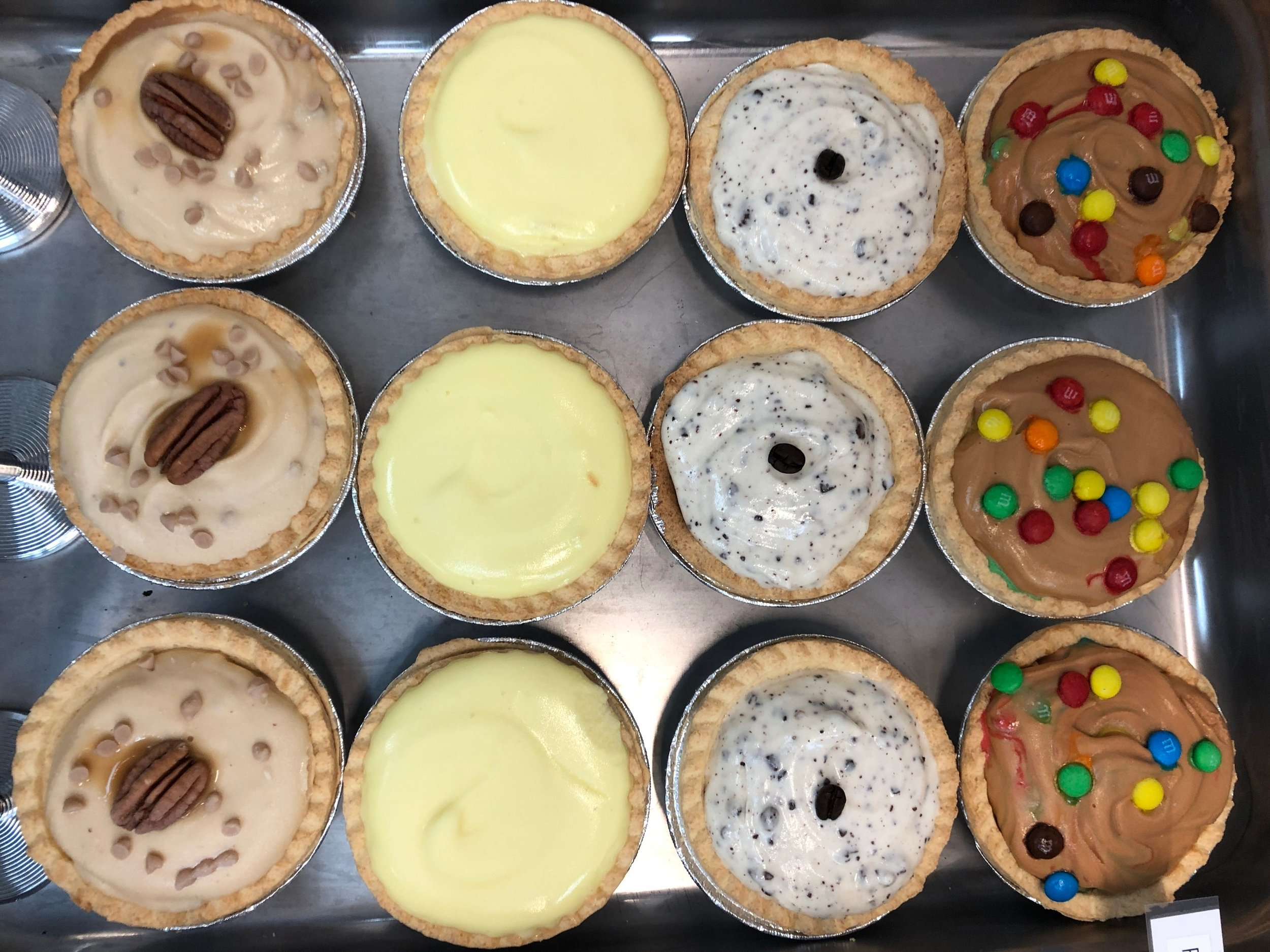 Mini Ice Cream Pies